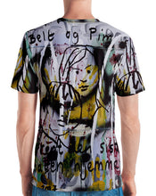 Load image into Gallery viewer, Luanne May Pim og Belt all-over t-shirt