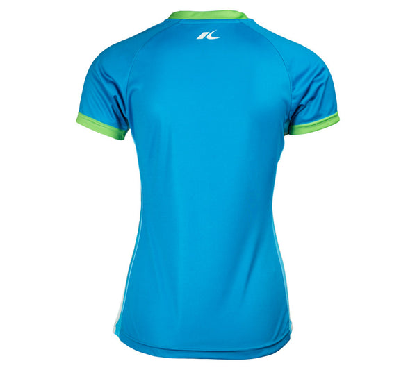 Blue RSR Circle - Run Seattle Run - Women's Short Sleeve Top back