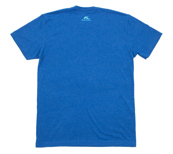 Cycle Far & Fast - Royal T - Men's Short Sleeve T-shirt - back