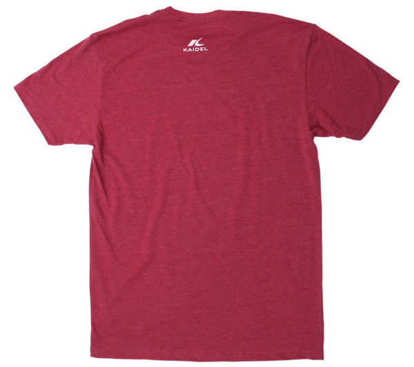 Early Bird Runner - Cardinal Red T - Men's Short Sleeve T-shirt back