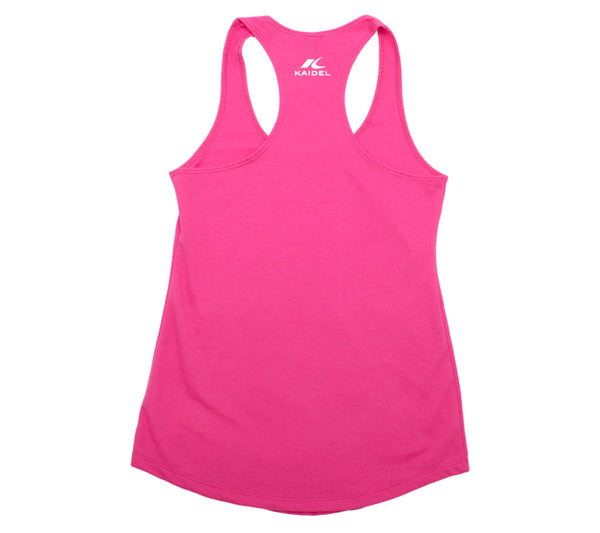 Fun Run - Raspberry Tank - Women's Terry Racerback Tank Back