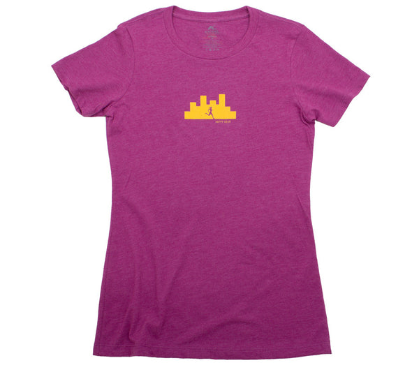 Happy Hour City Run - Lush T - Women's Short Sleeve T-shirt Front