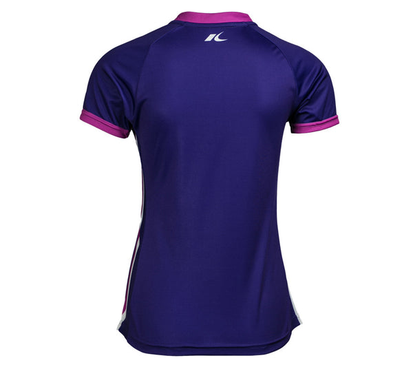 Purple RSR Circle - Run Seattle Run - Women's Short Sleeve Top back