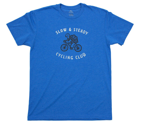 Slow Steady Cycling Club - Men Short Sleeve T-shirt front