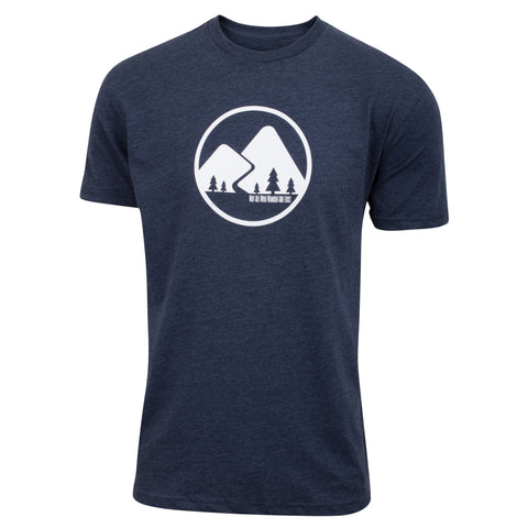 Kaidel Sportswear - Not All Who Wander Are Lost - Navy Blue - Men's Short Sleeve T-shirt - front 1