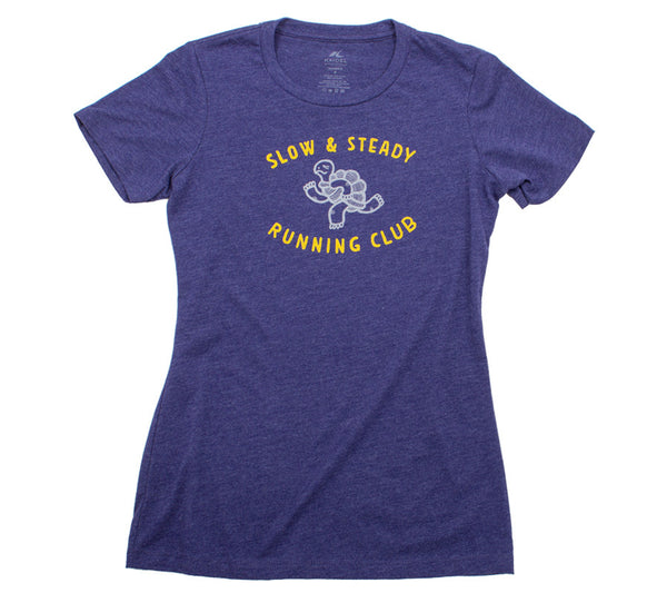 Slow & Steady Running Club - Storm T - Women's Short Sleeve T-shirt front