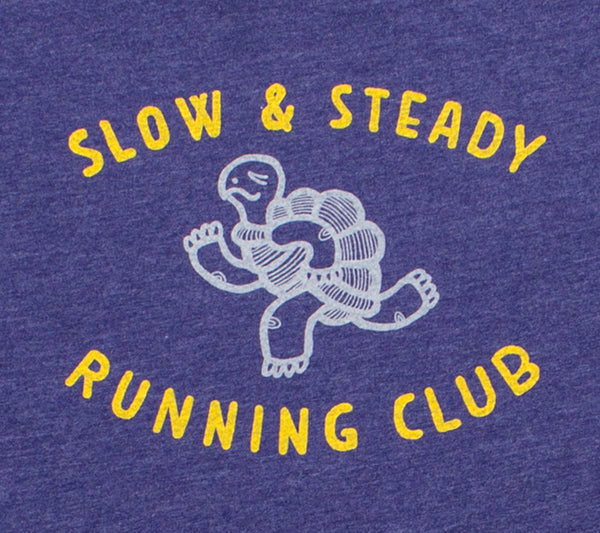Slow & Steady Running Club - Storm T - Women's Short Sleeve T-shirt closeup