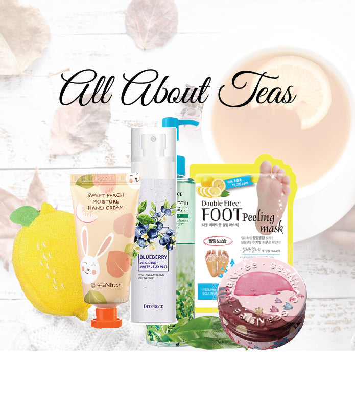 """All About Teas"" Beauty Box"