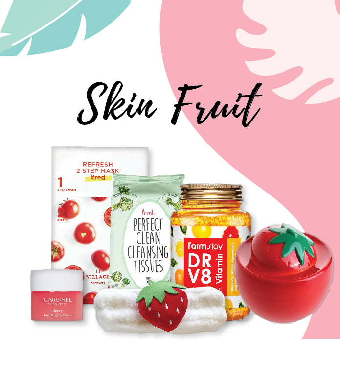 """Skin Fruit"" Beauty Box"