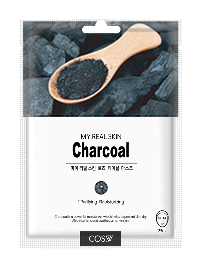 My Real Skin Charcoal Sheet Mask