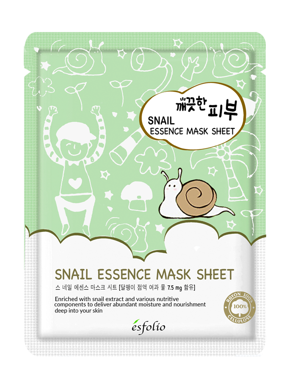Pure Skin Snail Essence Sheet Mask