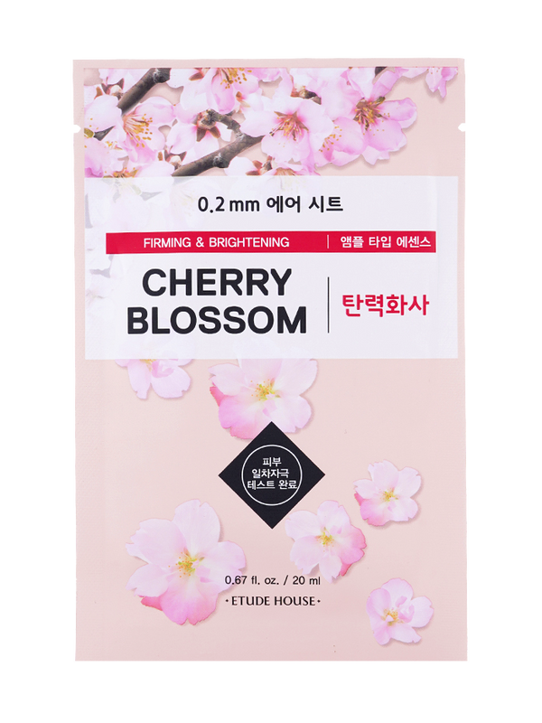 0.2 mm Therapy Air Cherry Blossom Sheet Mask