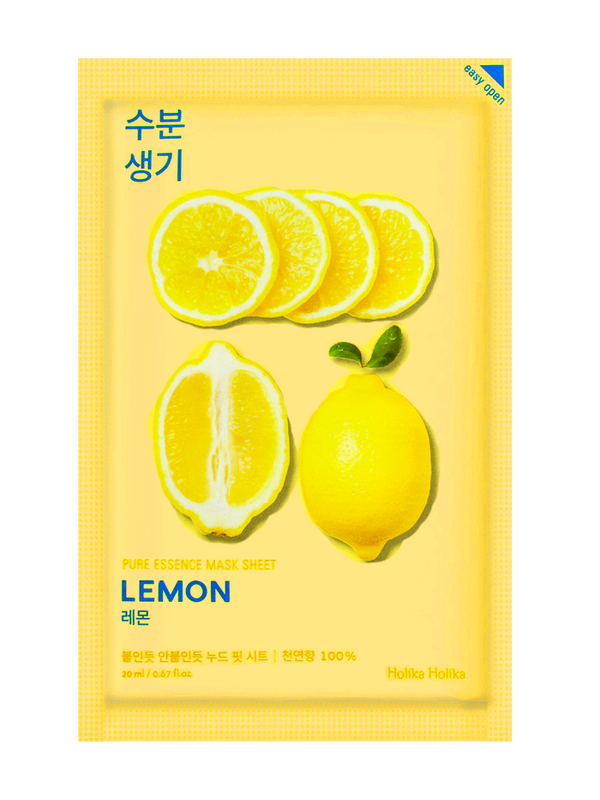 Real Nature Lemon Sheet Mask