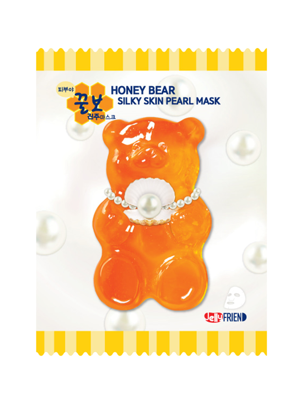 Honey Bear Silky Skin Pearl Sheet Mask