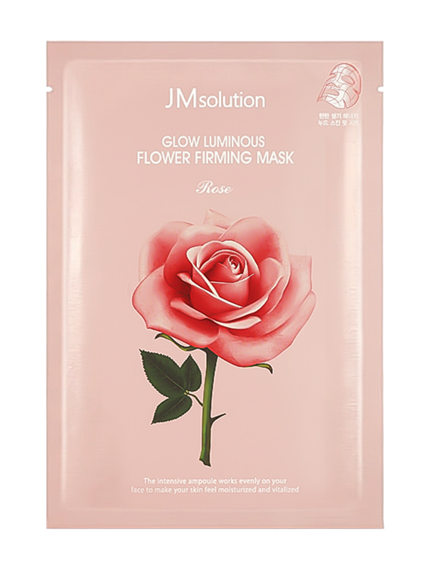 Glow Luminous Flower Rose Firming Sheet Mask