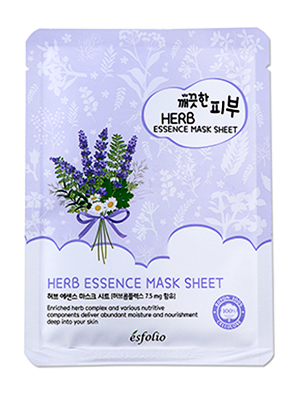 Pure Skin Herb Essence Sheet Mask