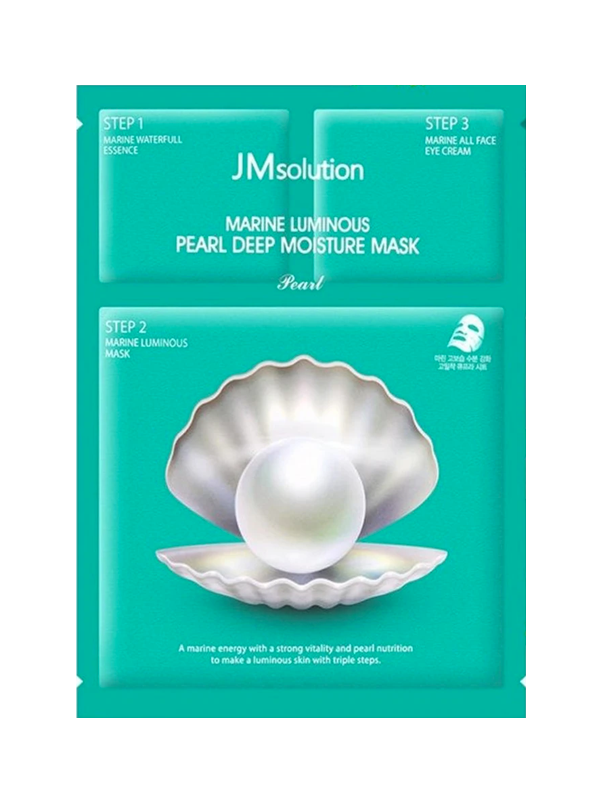 Marine Luminous Pearl Deep Moisture Sheet Mask