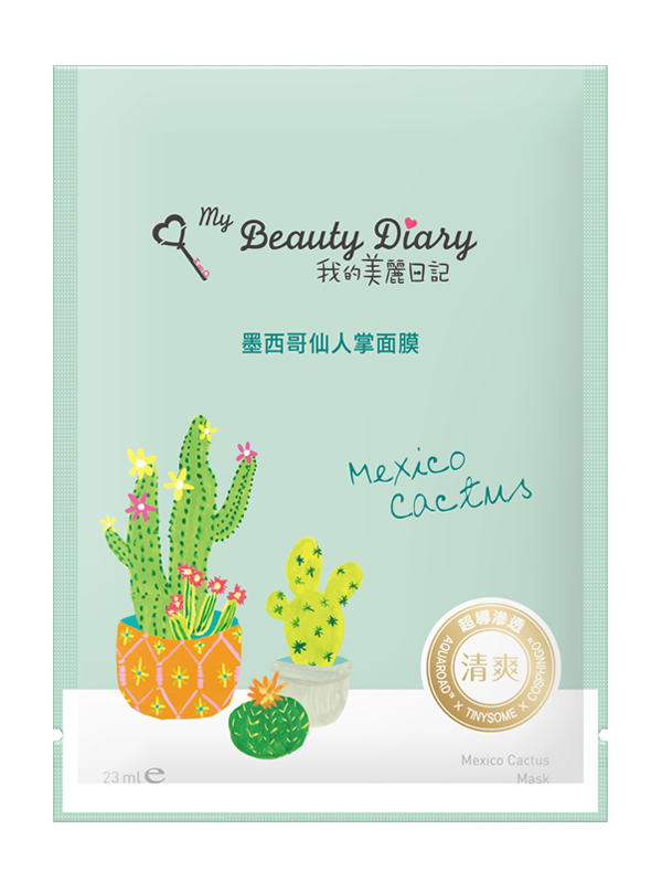 Mexico Cactus Soothing Sheet Mask