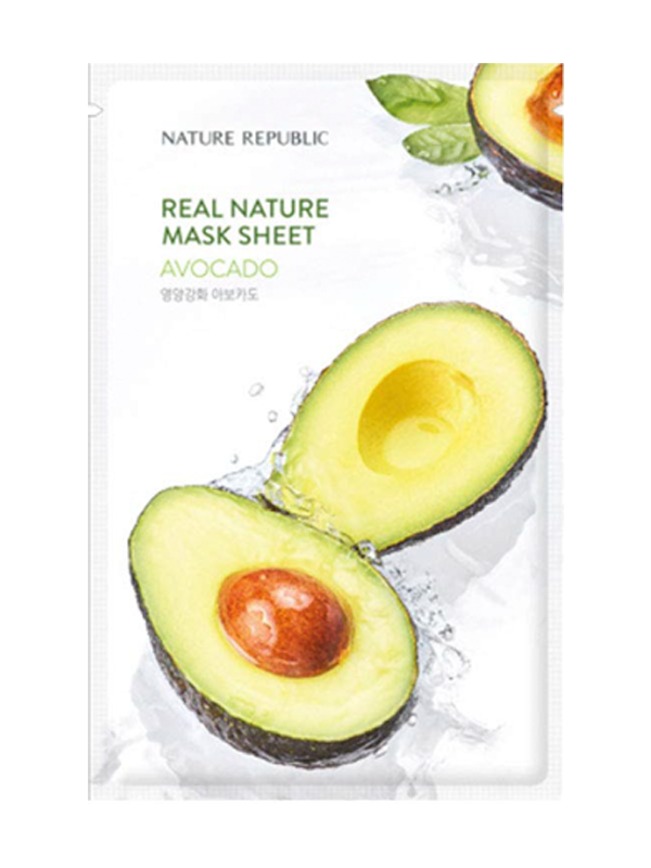 Real Nature Avocado Sheet Mask