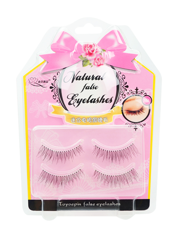 2 in 1 Permanent Crazy Mini Natural False Lashes (#761)