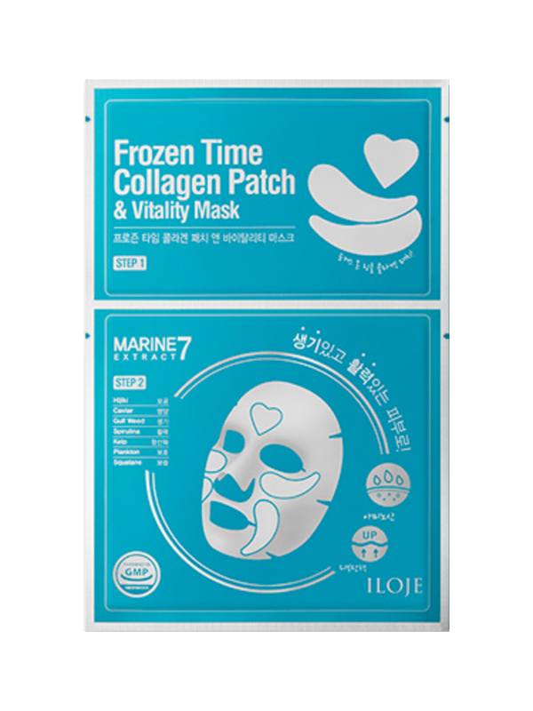 Frozen Time Collagen Patch & Vitality Sheet Mask