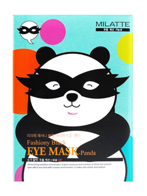 Fashiony Panda Black Eye Mask