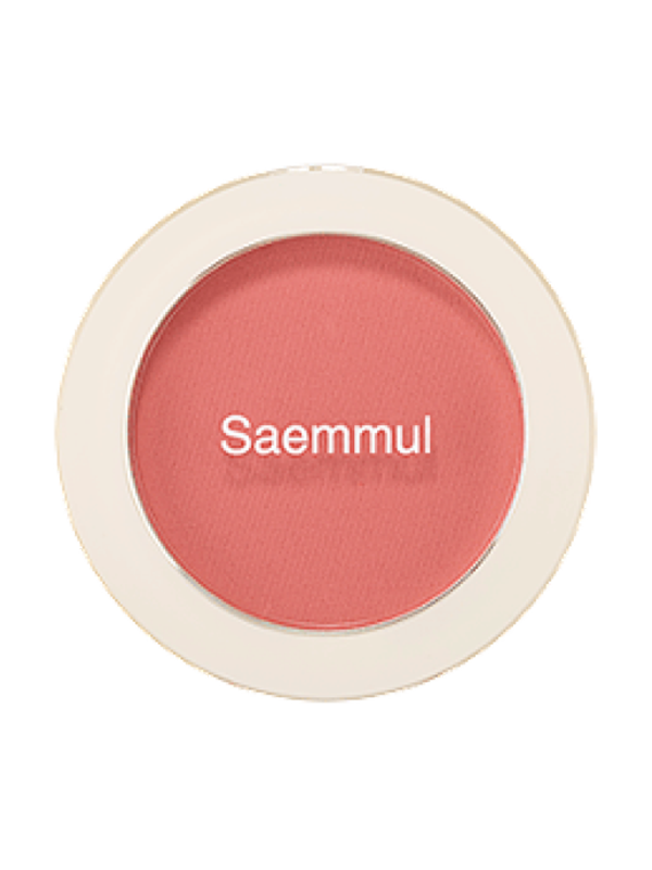 Saemmul Single Blusher Baby Coral (CR02)