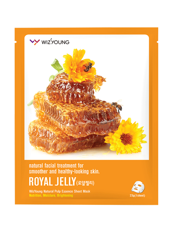 Royal Jelly Collagen Essence Sheet Mask