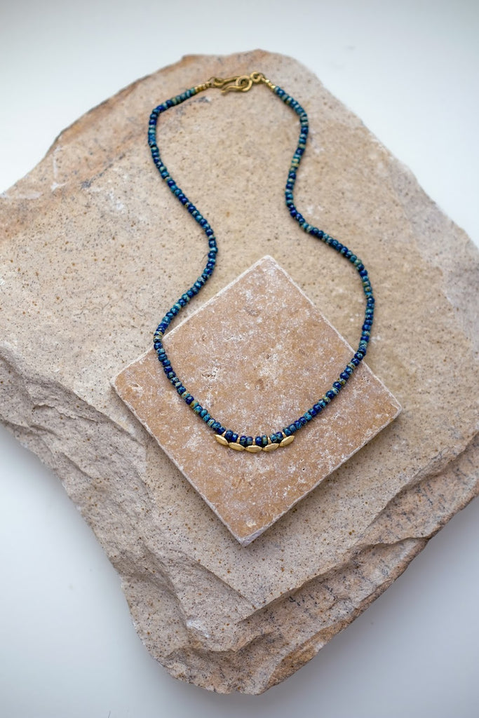 Madison Necklace Cobalt