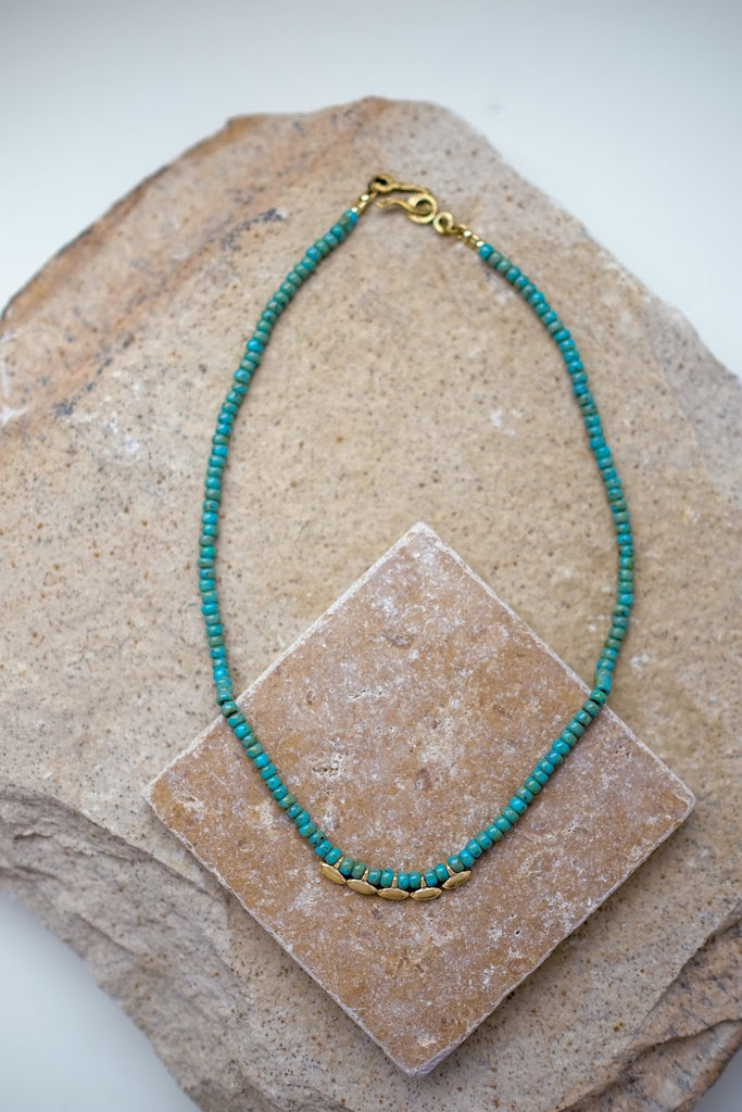 Madison Necklace Turquoise