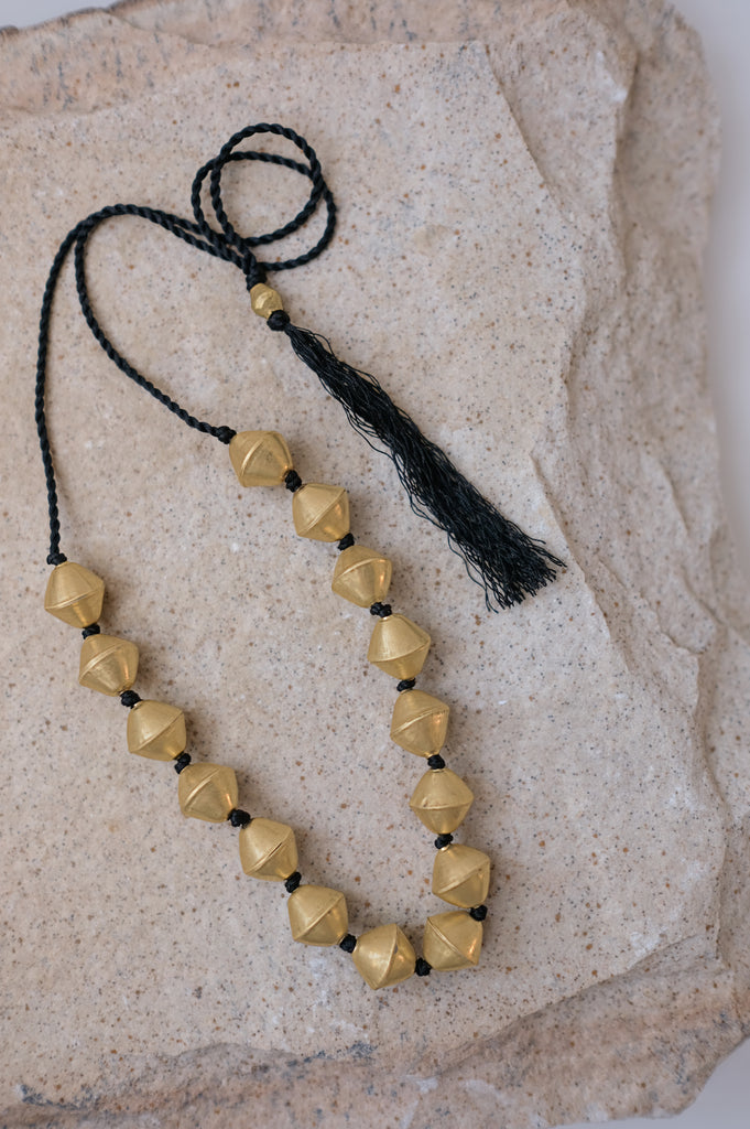 Golden Shadows Necklace