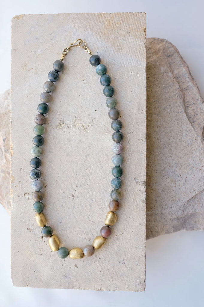 5 Pebble Necklace