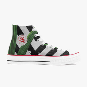 Alchemist Tropical Camo Canvas Sneakers