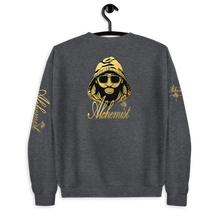 Load image into Gallery viewer, Alchemist Tight Circle, No Squares Gold Logo Sweatshirt