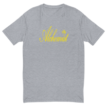 Load image into Gallery viewer, Alchemist Scripted Yellow Font - Next Level Tee
