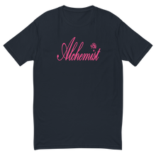 Load image into Gallery viewer, Alchemist Scripted Pink Font - Next Level Tee