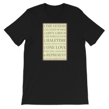 Load image into Gallery viewer, Illmatic Track List - Designer Short-Sleeve T-Shirt