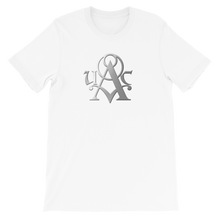 Load image into Gallery viewer, Saber Silver Logo - Designer T-Shirt