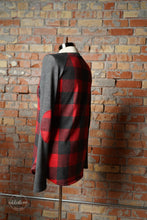 Load image into Gallery viewer, Cabin Fever Elbow Patch Top [Buffalo Plaid]