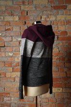 Load image into Gallery viewer, Cozy Nights Colorblock Jacket [Plum]