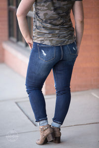 Get Your Shine On KanCan Distressed Jeans [Button Fly]