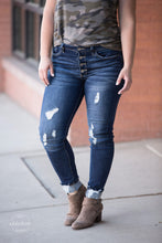 Load image into Gallery viewer, RESTOCKED Get Your Shine On KanCan Distressed Jeans [Button Fly]