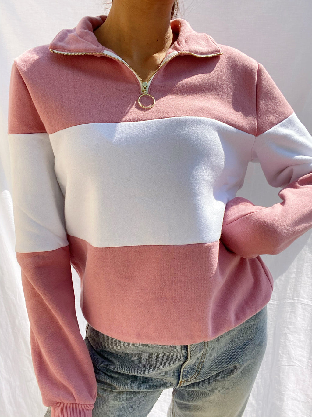 Christy Zip Pullover