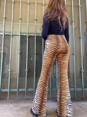 Stripes n Stuff Wide Leg Pants