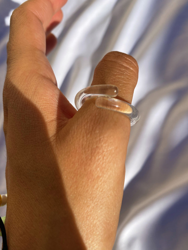 Transparent Loop Rings