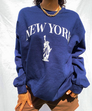 New York Oversized Crewneck | Unisex