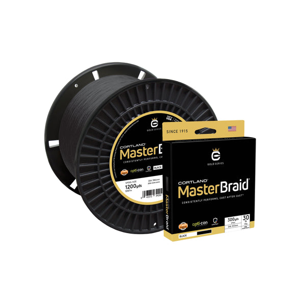 Cortland Master Braid - Black