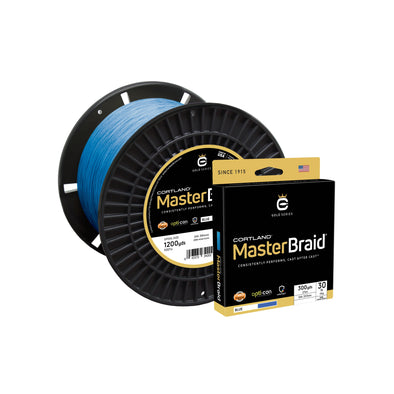 Cortland Master Braid - Blue