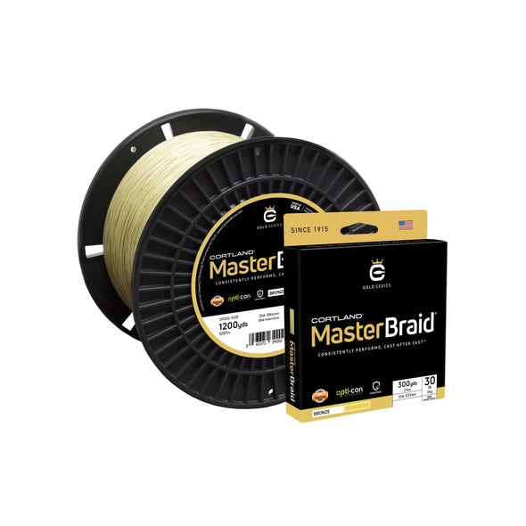 Cortland Master Braid - Bronze
