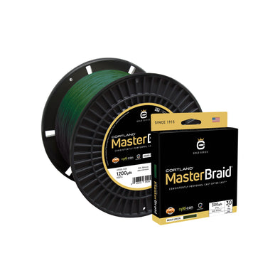 Cortland Master Braid - Moss Green